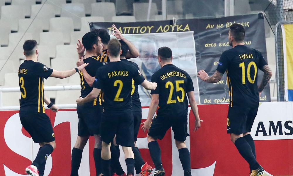 ΑΕΚ - Ριέκα 2-2: Ο Λιβάγια την σπρώχνει στην πρόκριση!