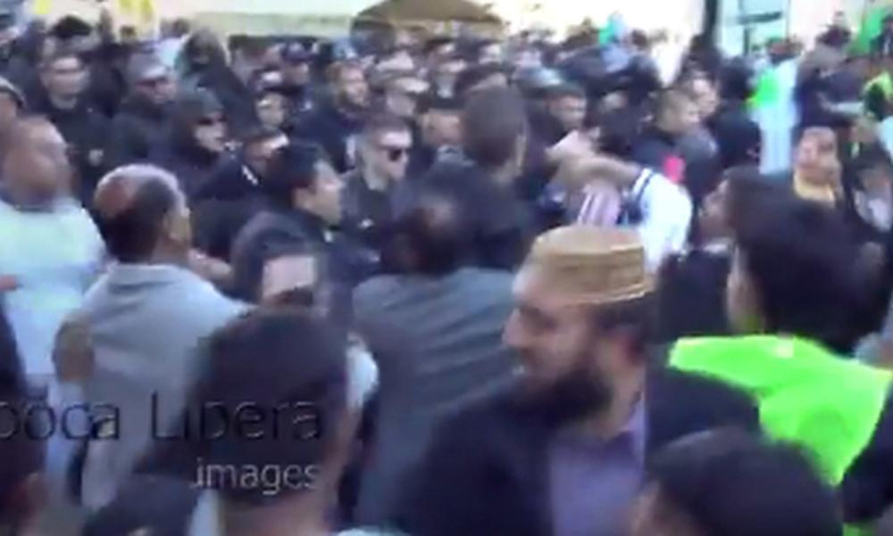 Επεισόδια και άγριο ξύλο οπαδών του ΠΑΟΚ με Πακιστανούς στην Ομόνοια! (video)