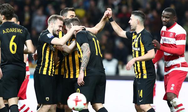 ΑΕΚ-Πλατανιάς 3-0: Με τέτοιον Λιβάγια δε φοβάται τίποτα