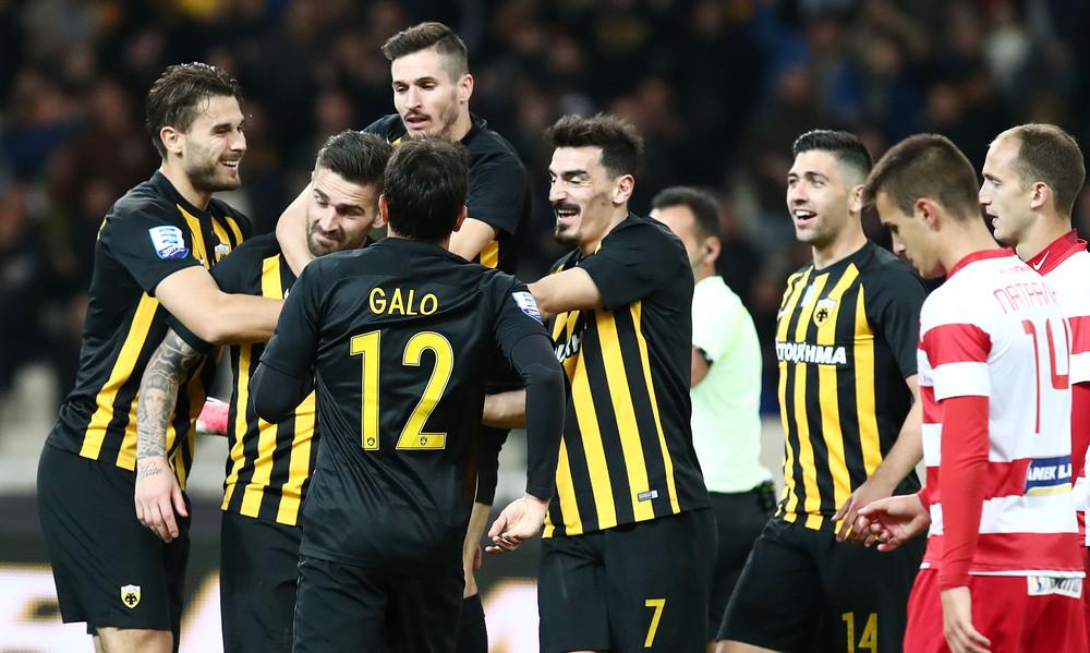 ΑΕΚ-Πλατανιάς 3-0: Τα γκολ και οι φάσεις του αγώνα (video)