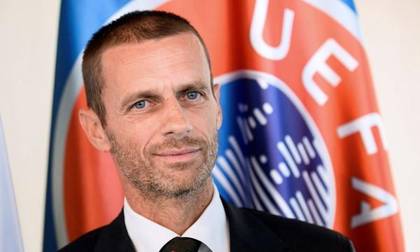 ΑΕΚ: Ο πρόεδρος της UEFA με την «κιτρινόμαυρη» φανέλα! (photos)