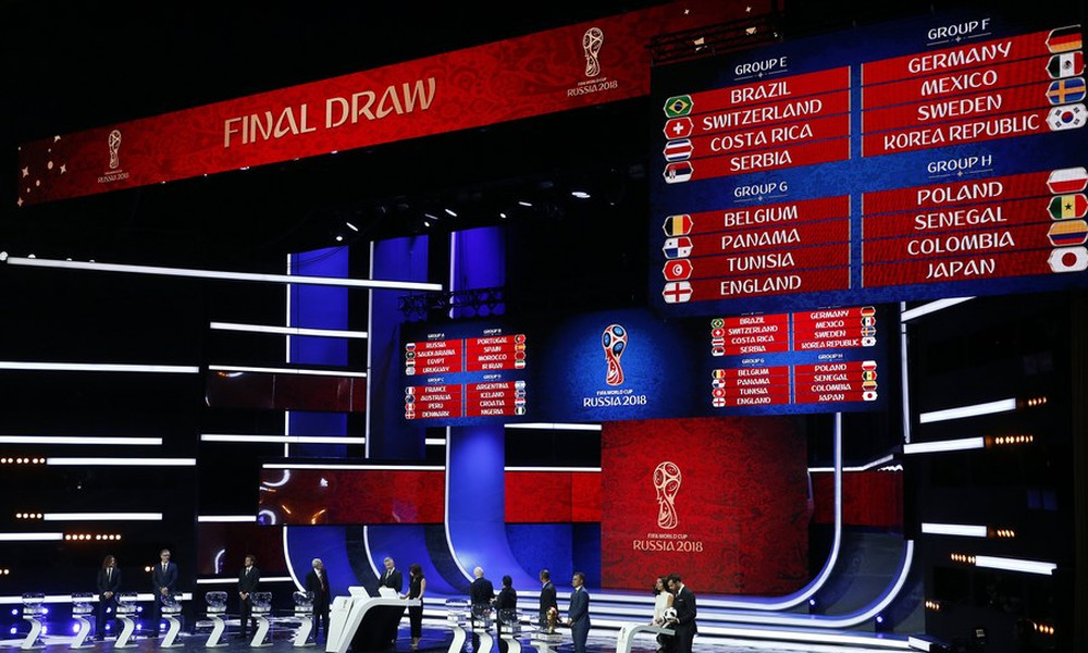 Παγκόσμιο Κύπελλο: Αυτοί είναι οι όμιλοι! (photos)