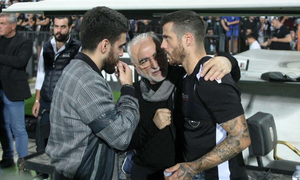ΠΑΟΚ: Έστειλε μήνυμα για Παναθηναϊκό ο Σαββίδης (photo)