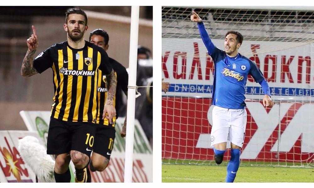 Super League: Κορυφαίοι Λιβάγια και Βασιλακάκης (photos)