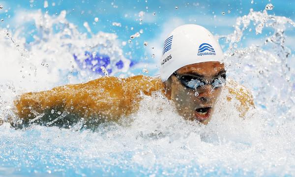 Κολύμβηση: Ασημένιος ο Βαζαίος στο Ευρωπαϊκό Πρωτάθλημα