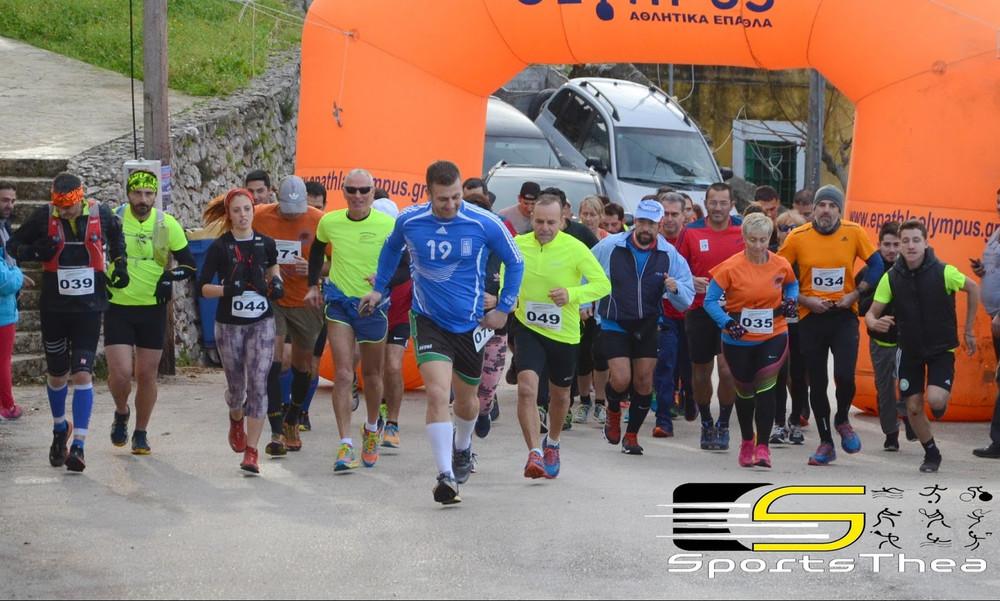 Μεγάλη η επιτυχία του 2ου ημιμαραθώνιο αγώνα δρόμου των Διλινάτων