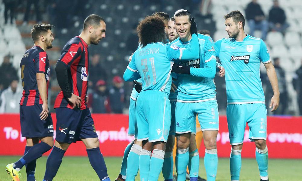 ΠΑΟΚ-Τρίκαλα 2-1: Πρόκριση με σφραγίδα Πρίγιοβιτς