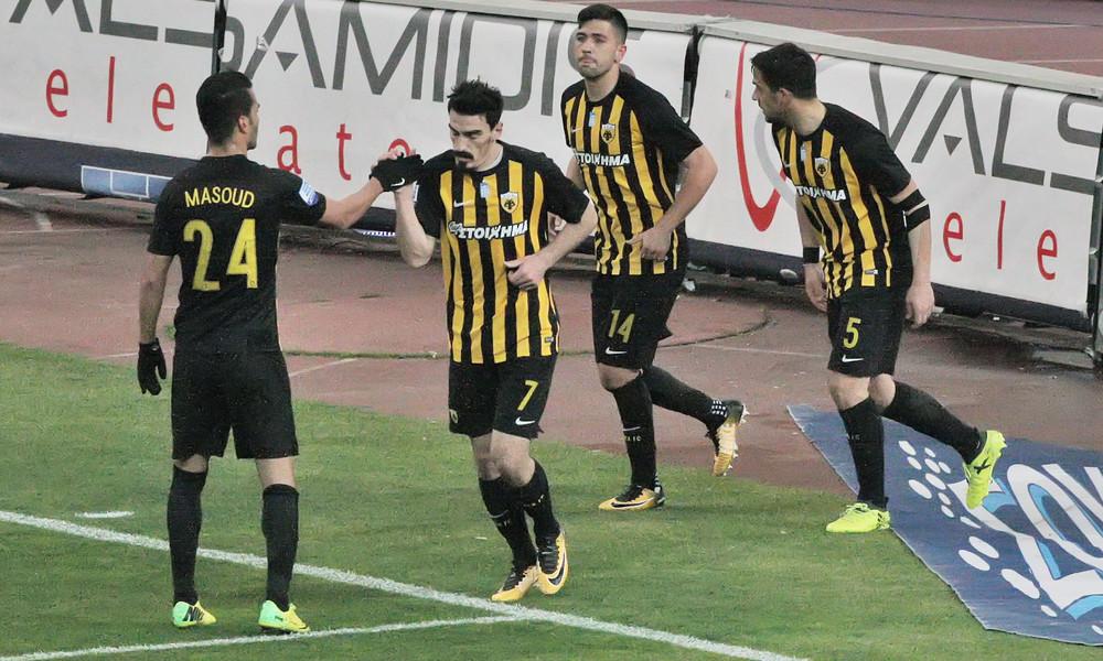 Σκόραρε και έδειξε... Μακεδονία ο Χριστοδουλόπουλος (photos)