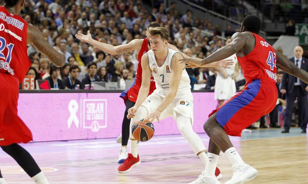 Ρεάλ Μαδρίτης: Παίζει με ΤΣΣΚΑ Μόσχας ο Ντόνσιτς