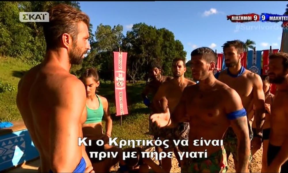 Survivor 2: Ο «φραουλίτσας» πιστεύει ότι «έχει» τον Κρητικό- Δείτε τι έγινε στον τελευταίο γύρο