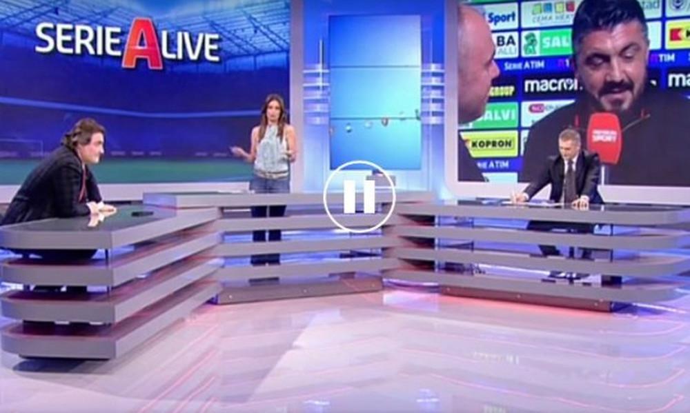 Ο γύπας Γκατούζο την έπεσε χύμα και τσουβαλάτα στην παρουσιάστρια on air! (video)