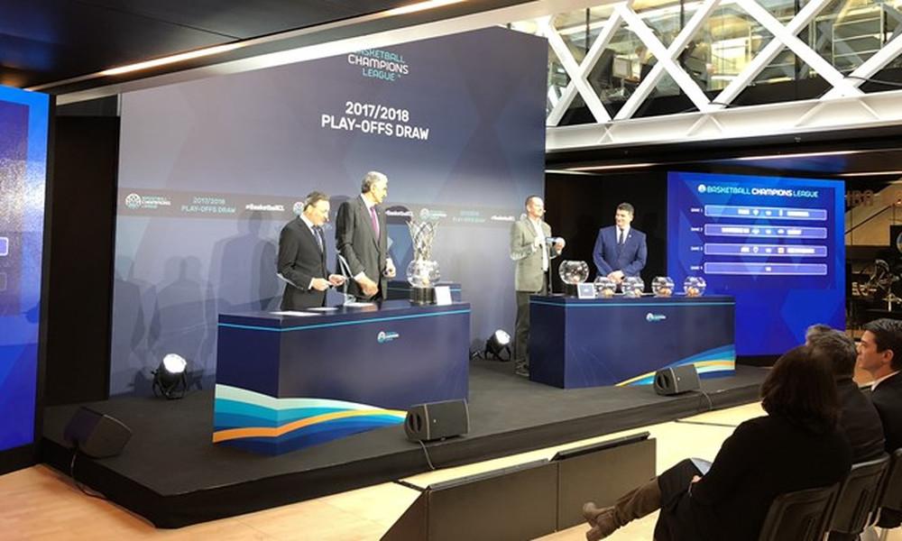 Basketball Champions League: Με Νίμπουρκ η ΑΕΚ, με Καρσίγιακα ο ΠΑΟΚ