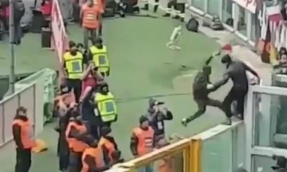 Τρομερό! Οπαδός της Τορίνο έσπρωξε φίλαθλο της Γιουβέντους από την εξέδρα (video)