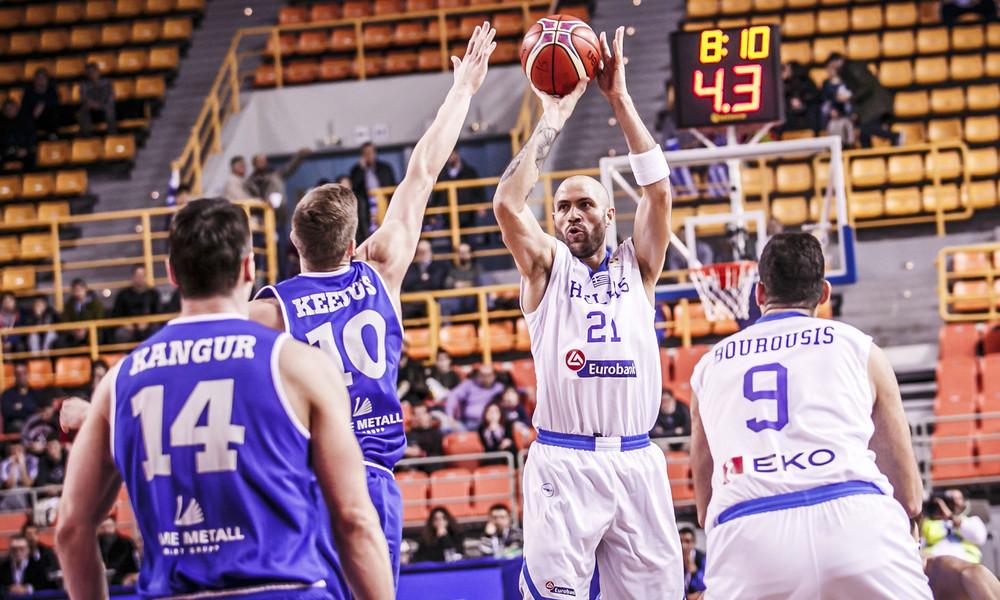 Ελλάδα - Εσθονία 87-75: Να περάσει ο επόμενος!