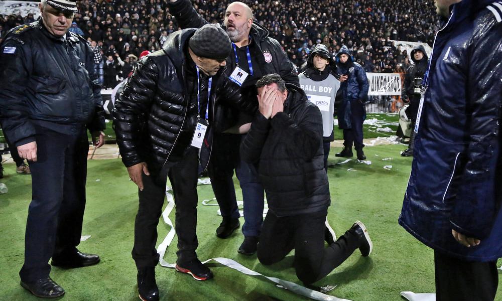ΠΑΟΚ - Ολυμπιακός: Συνελήφθη ο οπαδός που πέταξε το ρολό ταμειακής! (photos)