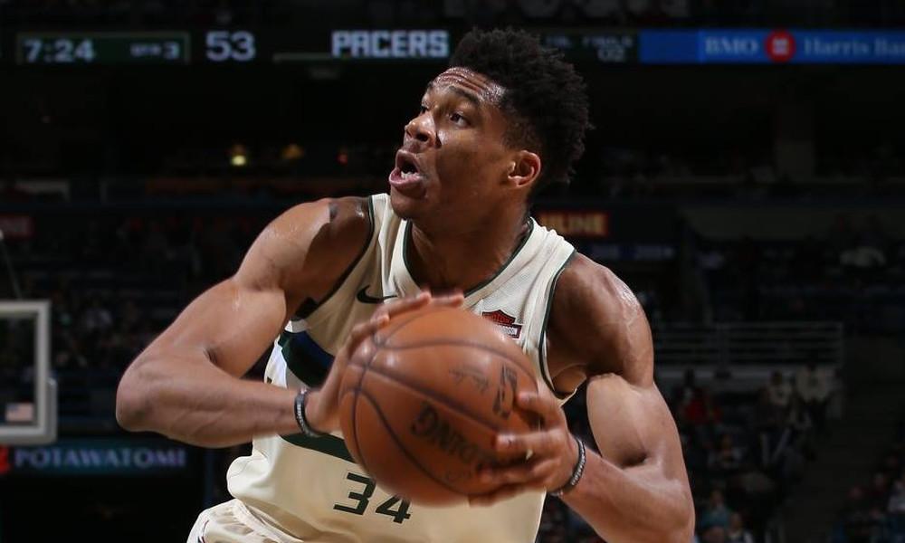 NBA: «Διπλός» Αντετοκούνμπο, τέταρτη σερί ήττα οι Μπακς (photos+video)