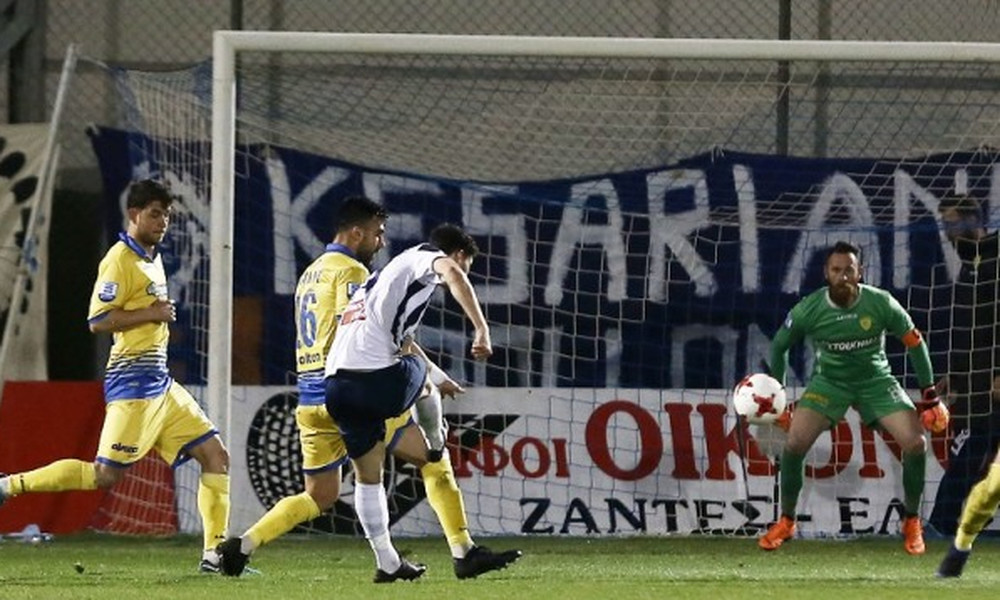 Απόλλων Σμύρνης-Παναιτωλικός 2-1: Τα γκολ του αγώνα (video)
