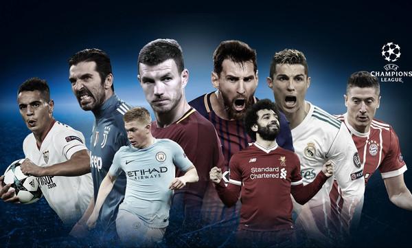 Champions League: Το πρόγραμμα των προημιτελικών (photo)