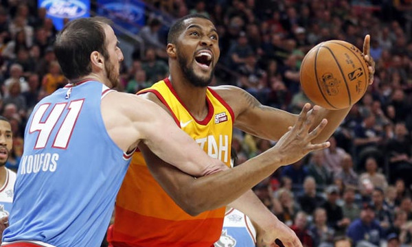NBA: Ήττα για Κουφό και Κινγκς στην Γιούτα (photos+video)