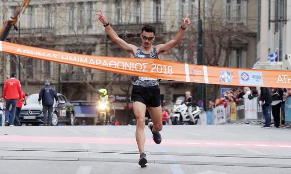7ος Ημιμαραθώνιος Αθήνας: Ο Γκελαούζος πρώτος με νέο ρεκόρ αγώνα
