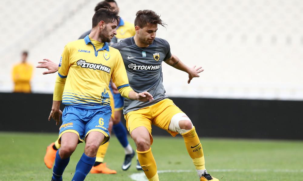 AEK: Φιλική νίκη επί του Παναιτωλικού