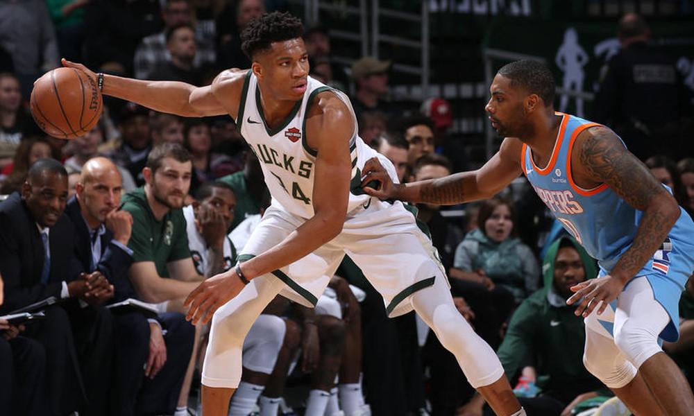 NBA: Ο τραυματισμός του Αντετοκούνμπο (video)