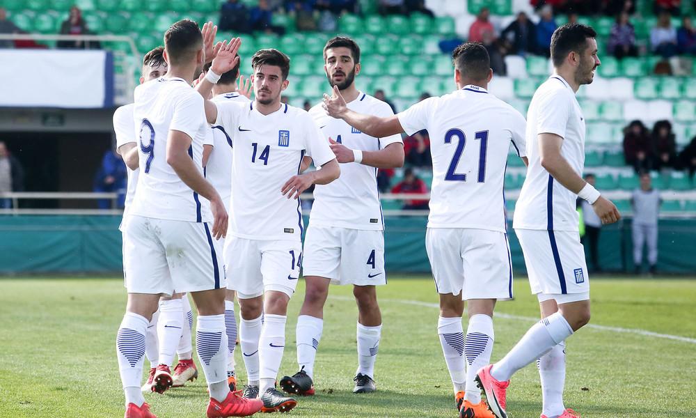 Ευρωπαϊκό Ελπίδων: Νίκη 3-0 επί της Τσεχίας για την Εθνική