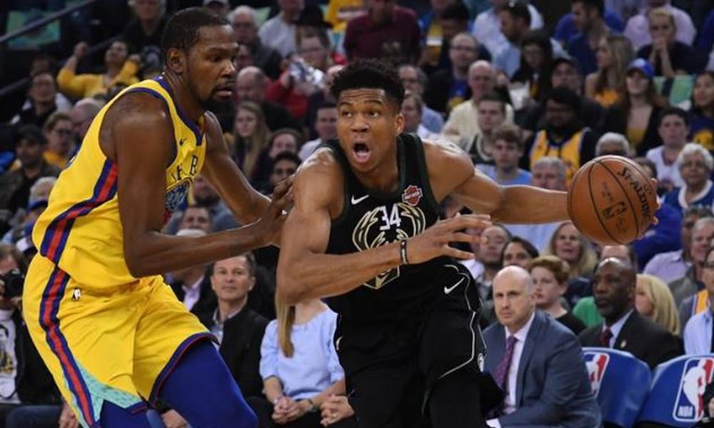 NBA: Μαγικός Αντετοκούνμπο στο επικό «διπλό» επί των Ουόριορς (video)