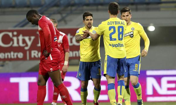 Αστέρας Τρίπολης-Πλατανιάς 4-0: Τα γκολ και οι φάσεις του αγώνα (video)