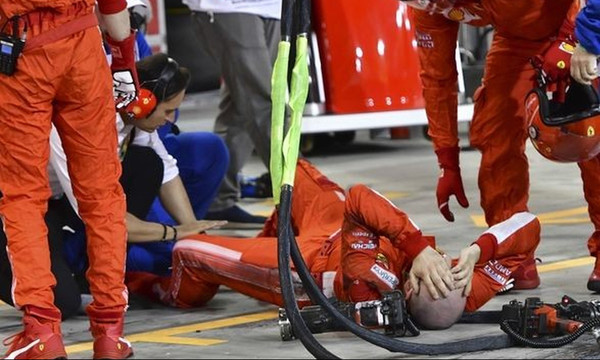 Το μήνυμα του μηχανικού της Ferrari που πάτησε ο Ραϊκόνεν (photo+video)