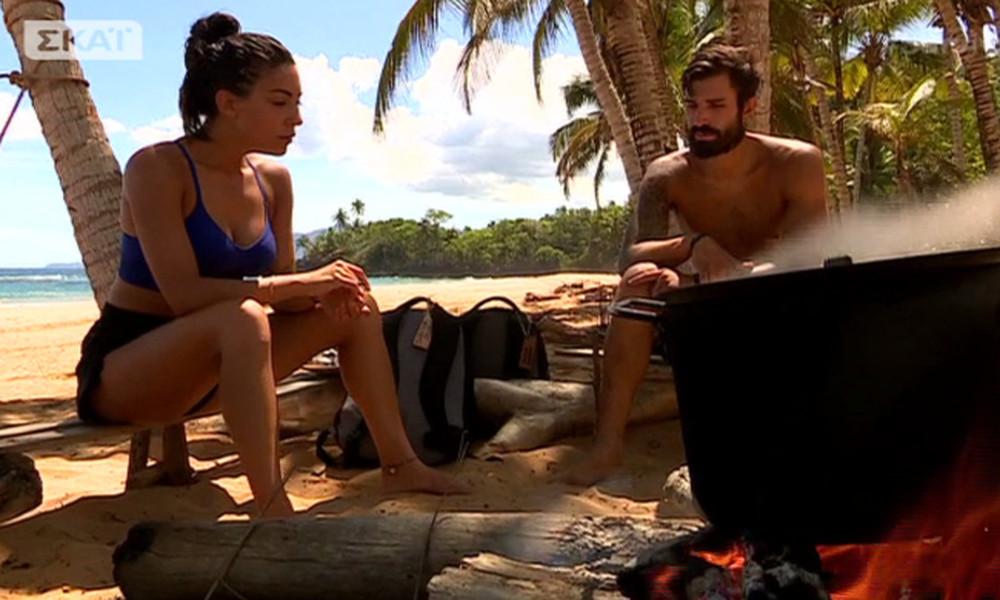 Survivor 2: Φελίσια Τσαλαπάτη: Αποθέωσε τον Νάσο και ο Γκότσης την ρώτησε αν υπάρχει… ειδύλλιο