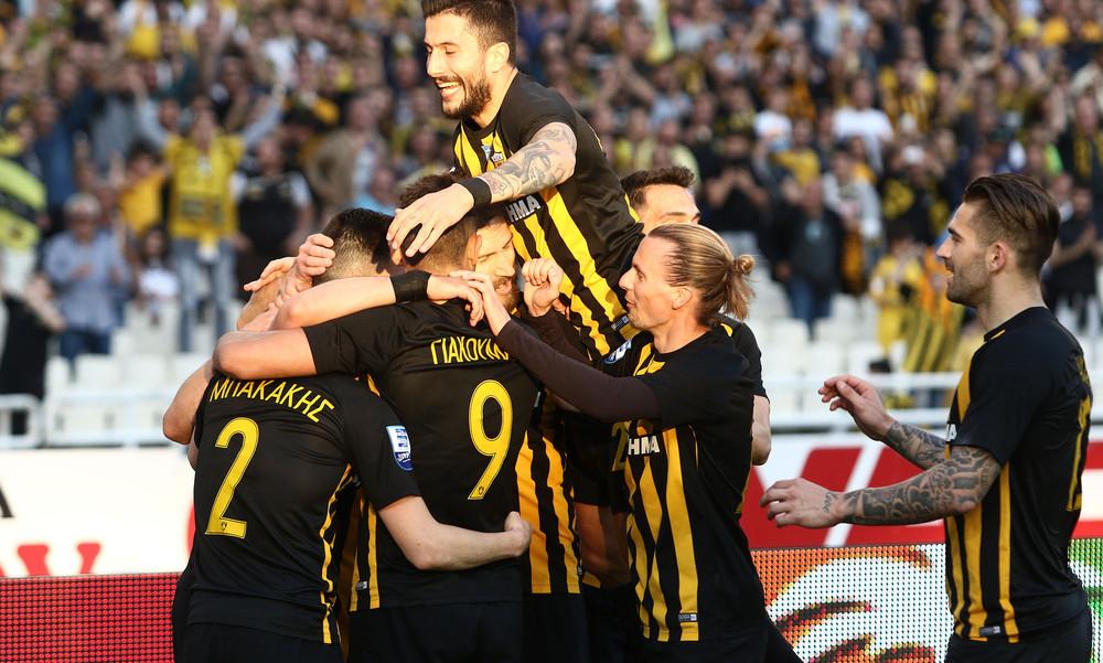 ΑΕΚ-Λεβαδειακός 2-0: Πρωταθλήτρια εν αναμονή