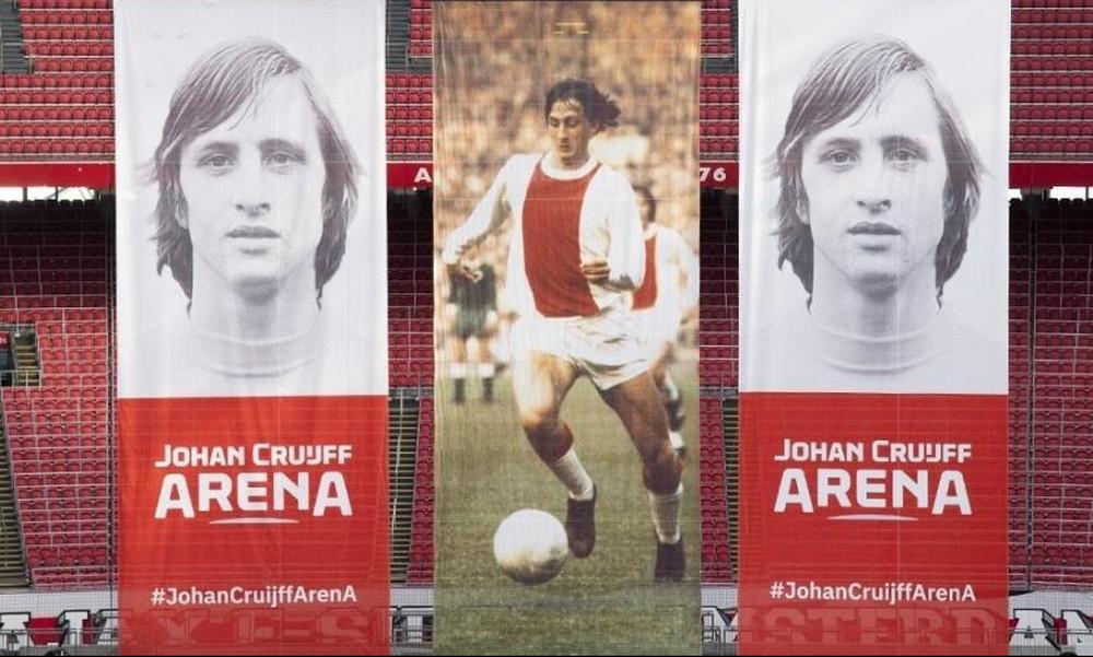 H «Άμστερνταμ Αρένα» μετονομάστηκε σε Γιόχαν Κρόιφ Arena (video+photos)