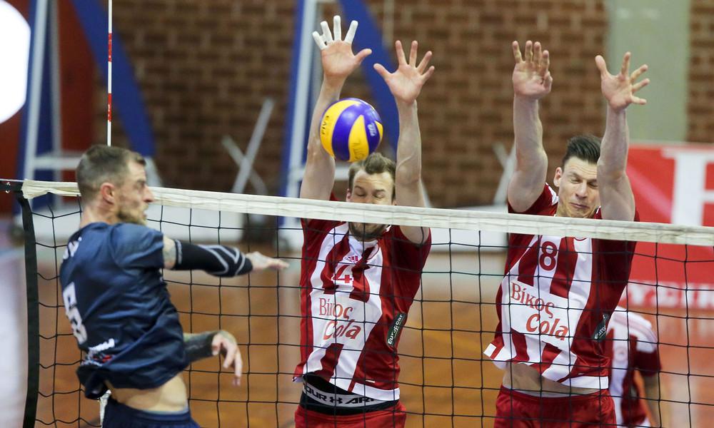 Volley League: Στον τελικό με… σκούπα ο Ολυμπιακός (photos)