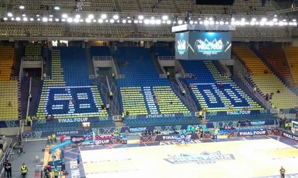 Champions League Final-4: Ετοιμάζουν εκπλήξεις οι οπαδοί της AEK! (photos+video)