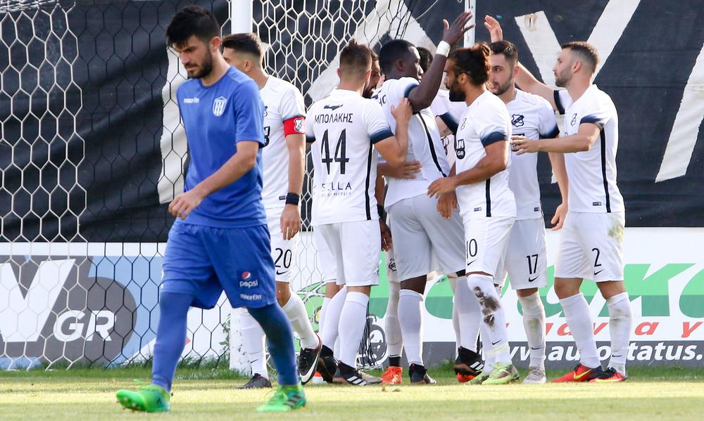 ΟΦΗ-Απόλλων Λάρισας 4-0: Πιο καλή η μοναξιά!