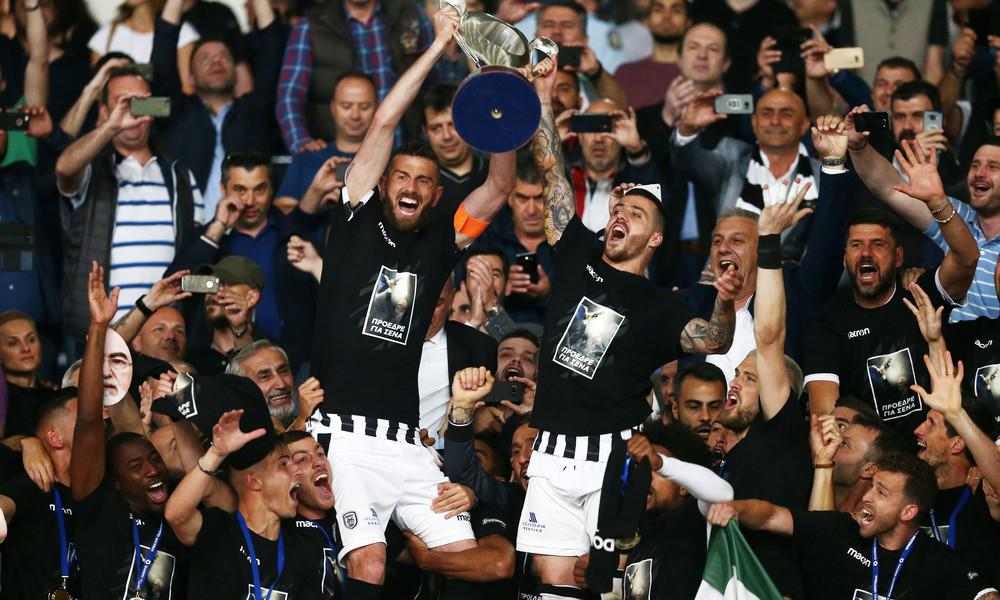 Ο ΠΑΟΚ ήταν η καλύτερη ομάδα φέτος και το απέδειξε (και) στον τελικό