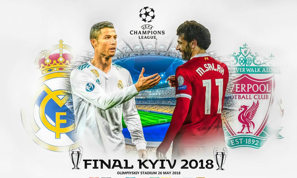 Τελικός Champions League: «Τιτανομαχία» Ρεάλ και Λίβερπουλ για το στέμμα!