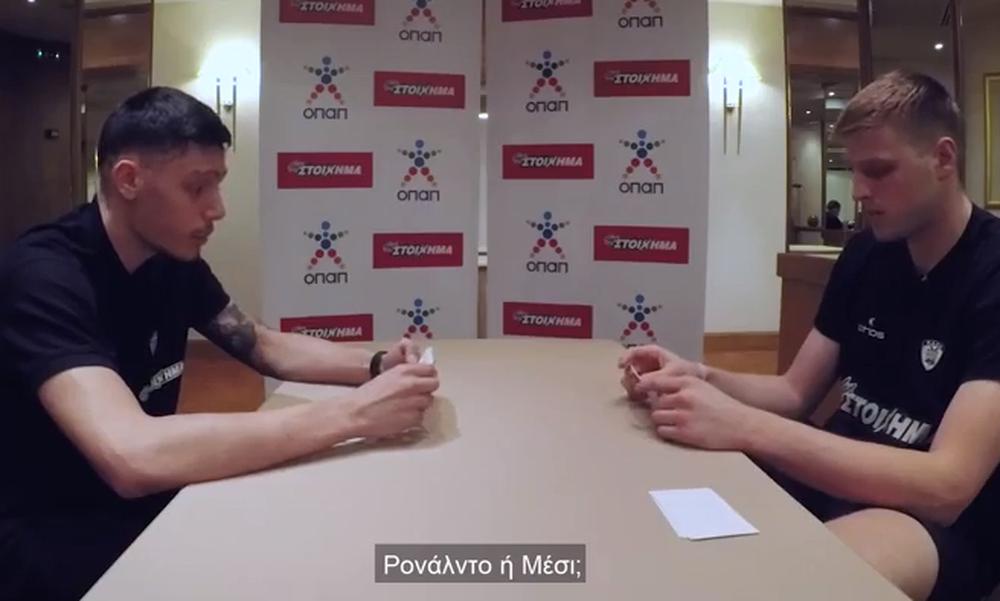 ΕΠΟΣ: Kόνιαρης – Χαραλαμπόπουλος δίνουν «ρέστα» ενόψει του Παγκοσμίου #ZiseToPodosfairo  (video)