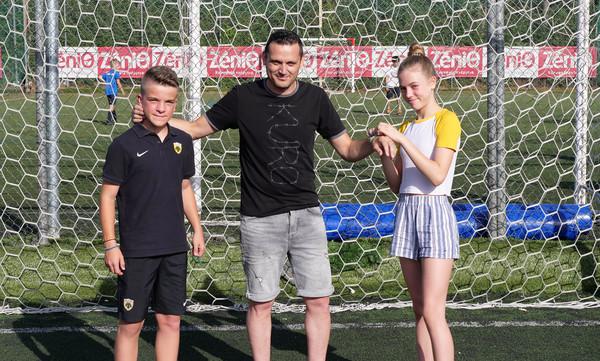 F4F: Ο Βασίλης Λάκης υποστηρίζει το «Ποδόσφαιρο για τη Φιλία 2018» (photos)