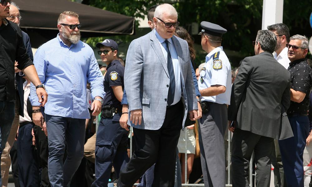 Στο τελευταίο «αντίο» του Παύλου Γιαννακόπουλου, ο Μελισσανίδης (video)