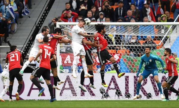 Παγκόσμιο Κύπελλο Ποδοσφαίρου 2018: Αίγυπτος - Ουρουγουάη 0-1 (photos)