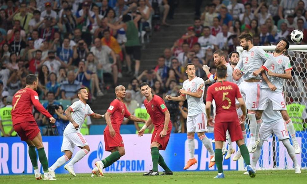 Παγκόσμιο Κύπελλο Ποδοσφαίρου 2018: Το απίστευτο φάουλ του Κριστιάνο Ρονάλντο (video)