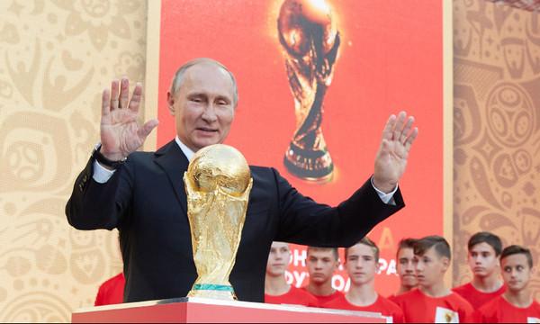 Παγκόσμιο Κύπελλο Ποδοσφαίρου 2018: Συνάντηση Πούτιν στη Ρωσία με πρόσωπο-έκπληξη! (photos)