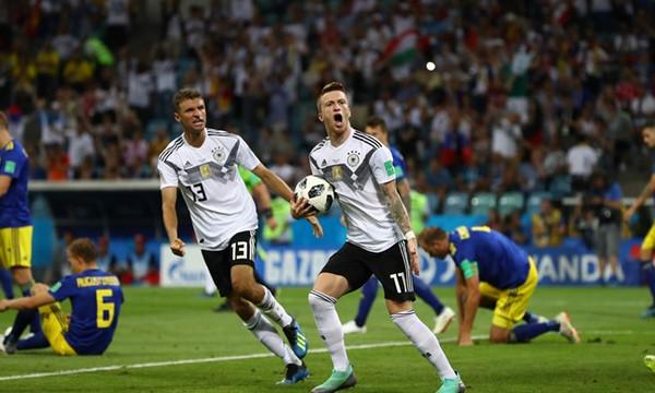 Παγκόσμιο Κύπελλο Ποδοσφαίρου 2018: Γερμανία-Σουηδία 2-1 (photos)