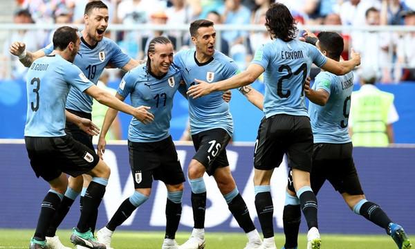 Παγκόσμιο Κύπελλο Ποδοσφαίρου 2018: Ουρουγουάη-Ρωσία 3-0 (photos)