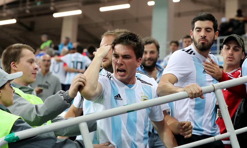 Παγκόσμιο Κύπελλο Ποδοσφαίρου 2018: Πρόστιμο FIFA σε Αργεντινή