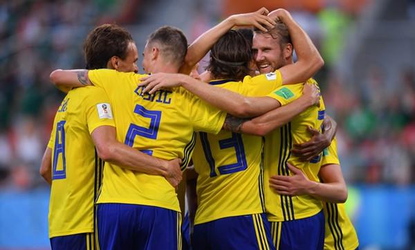 Παγκόσμιο Κύπελλο Ποδοσφαίρου 2018: Μεξικό-Σουηδία 0-3