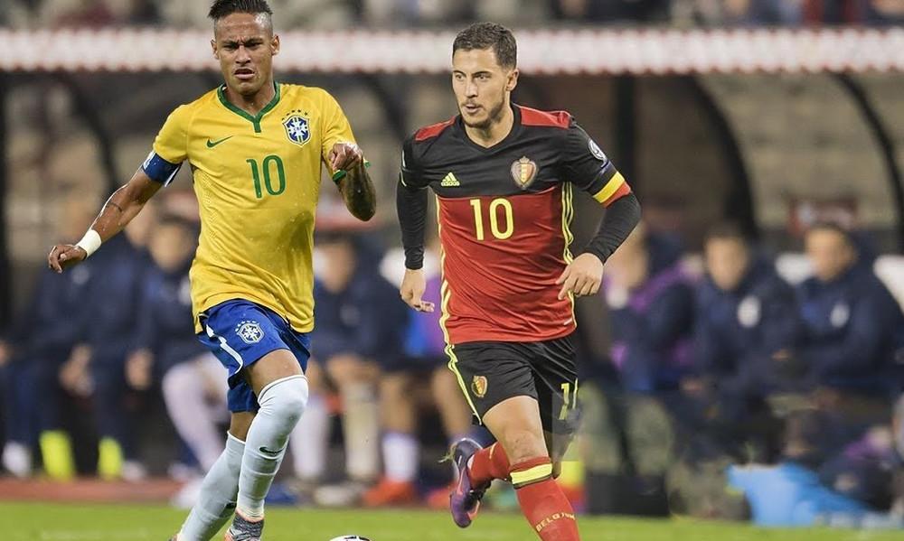 Πρόωρος τελικός το Βραζιλία-Βέλγιο