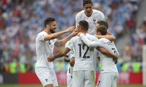 Παγκόσμιο Κύπελλο Ποδοσφαίρου 2018: Ουρουγουάη-Γαλλία 0-2 (photos)